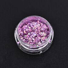 DIY Nail Art Glitter Powder Dust For UV GEL Acrylic Powder Decoration Tips Pink