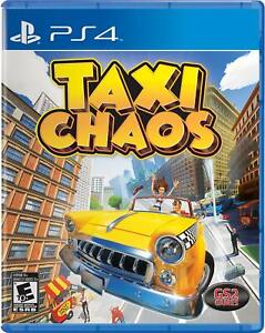 Taxi Chaos (PlayStation 4 and 5, Physical, USA Version) BRAND NEW SEALED ps4 ps5