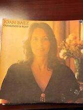 Joan Baez LP Diamonds and Rust