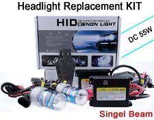 NEWEST Slim DC 55W Xenon Car Auto Headlight replacement HID Kit H7 6000K L8
