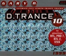D. Trance 10 (1999) Mind vs Buzz, Red Light District, Yves Deruyter, Sp.. [3 CD]
