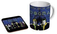Dogma Ceramic Tea - Coffee Mug Coaster Gift Set