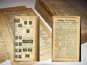 Antico Catalogo Francobolli MONDO-Catalogue Tous les timbres stampS 1840 -1920