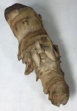 "Hand Carved Wood Troll Scandinavian Gnome Elf Rustic Wall Art 10 x 4"""