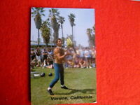 '90S VENICE CALIFORNIA  ROBERT GRUENBERG JUGGLER,JEFFREY STANTON PHOTO POSTCARD