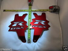 Suzuki GSX-R GSXR 1000 RED Exhaust Hangers 2007 2008 2009 2010 2011