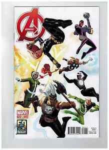 AVENGERS #22  Daniel Acuna 50th Anniversary Variant Cover   / 2013 Marvel Comics