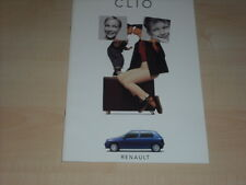 40443) Renault Clio A inkl. Baccara + RSi Prospekt 05/1994