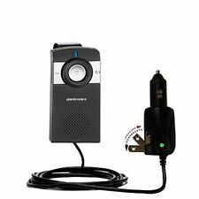 Wall & Auto 2 in 1 Charger fits Plantronics K100 In-Car