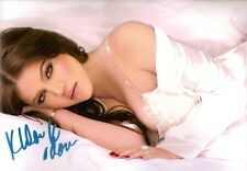Khloe Kardashian Keeping Up with the SIGNED 8x12 Photo COA