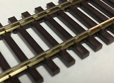 Peco HO Scale Code 83 36'' NS Flex Track Wood Ties 5Pk SL-8300