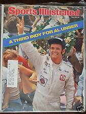 1978 Sports Illustrated-Indy 500 Winner Al Unser
