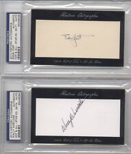ED YOST 2010 Historic Auto PSA DNA Autographs HOF ALL STAR Edition #/71 SENATORS