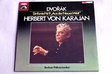 "DVORAK ""SINFONIE Nr, 9, NEW WORLD"" KARAJAN LP GERMAN EMI RARE NM"