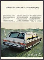 "1968 Chrysler Town & Country Station Wagon photo ""Penthouse of Cars"" print ad"