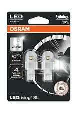 Osram LEDriving SL W16W Cool White Bulbs 12v 1.4W (Wedge 921 21W) 921DWP-02B