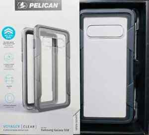 PELICAN VOYAGER 4 Layer Drop Protection Case w/ Holster for Galaxy S10 #007