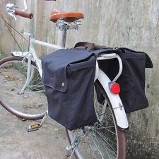 Tourbon Double Pannier Bike Bag Bicycle Rolled-Up Big Navy Blue at AU Warehouse