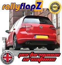 Mudflaps & Fixings to fit VW Golf Mk7 (all models) Black 4mm Thick Flexible PVC