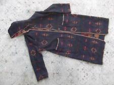 WOOLRICH Women's Long Wool Blanket Barn Coat reversible southwestern Sz. XL