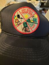Vintage Boy Scout Trucker Hat Snap Back