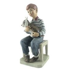 New ListingVintage Norman Rockwell At The Vets Figurine 1981 Saturday Evening Post Sick Dog