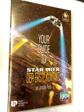 YOUR GUIDE TO ... STAR TREK Der erste Kontakt CIC VHS Video Kassette RETRO KULT
