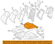 MERCEDES OEM 15-18 C300 Driver Seat-Cushion Cover 20591010467M97