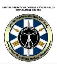 1,040 page SF Operator COMBAT MEDICAL SKILLS SUSTAINMENT COURSE TCCC Pub On CD