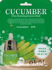 EKEL Ultra Hydrating Essence Mask Korean Masksheet cosmetics CUCUMBER 1 pcs