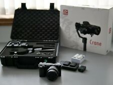 Sony Alpha A6300 with 16-50 Lens and Zhiyun Crane Gimbal