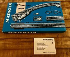 Märklin Marklin Supplementary Track Pack 5090 Vintage Original Blue Box **READ**