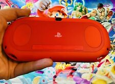 Sony PlayStation PS Vita Slim 2000 PSV Red Black Portable Console + Charger