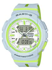Casio Baby-G * BGA240L-7A Runner Anadigi Grey and Apple Resin Watch COD PayPal
