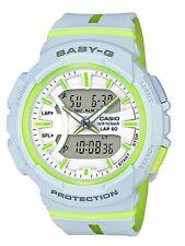 Casio Baby-G * BGA240L-7A Runner Anadigi Grey and Apple Resin Watch for Women