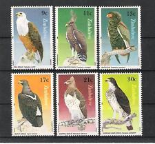 ZIMBABWE (1984) - Mi 297/302 Y 71/76 **MNH - OISEAUX / BIRDS - AIGLES / EAGLES