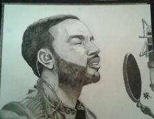 John Legend portrait/drawing/music/all of me/artwork/original