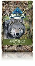 Wilderness Blue Buffalo Bayou Blend Dog Food 22 lb
