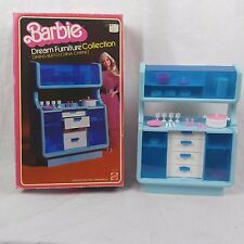 Barbie Dream Furniture Dining Buffet / China Cabinet In Box ( 1978 Mattel )