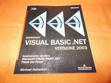 microsoft visual basic.net 2003 mondadori