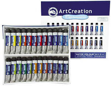 9012024M Set de 24 Peintures Aquarelle ArtCreation Expression 12ml