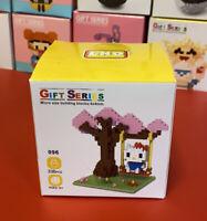 Sanrio Hello Kitty 🌸 Sakura Tree Swing 336pcs Nano Blocks