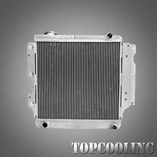 3Row Aluminum Radiator For Jeep Wrangler YJ TJ LJ 4.0L Right Hand Drive MT 87-07