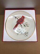 Avon 1974 Don Eckelberry Plate Cardinal On Dogwood Limb