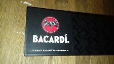 BACARDI BAR RUNNER RUBBER BEER MAT HOME BAR MAN CAVE DRINK SPILL