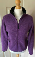 Trespass Sort Shel Jacket M Uk 10/12 Zip  Pockets Mauve