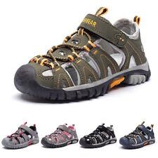 Kids Boy Outdoor Sandals Casual Summer Beach Walking Sports Hollow Shoes Size Uk