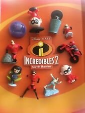 2018 McDonalds INCREDIBLES 2 happy meal set 10 pc sealed IN HAND w/ BONUS!