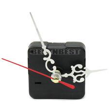 Red Hands Quartz Wall Clock Movement Mechanism Repair Replacement Parts kits