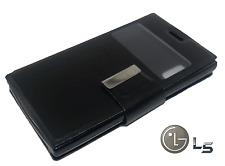 Funda ventana para LG OPTIMUS L5 e610 Carcasa protector piel cierre imán calidad